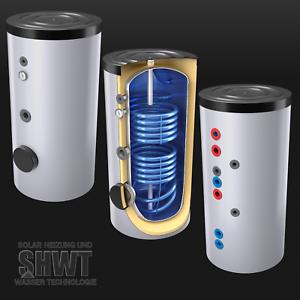 Solarspeicher Brauch Warmwasser Speicher 300 L Liter 2WT Boiler ...