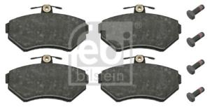 Bremsbelagsatz Scheibenbremse für Bremsanlage Vorderachse FEBI BILSTEIN 16336