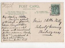 Miss Stella Kelly School of Gunnery Shoeburyness 1904 533a
