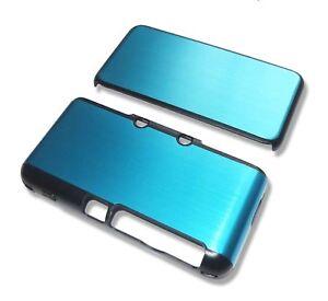 Nintendo-2DSXL-2DS-XL-Turquoise-Blue-Aluminium-Metal-Case-Cover-Shell-UK-Seller