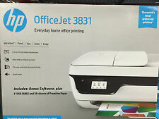 HP OfficeJet 3831/3833 Printer/copier/scanner-wireless-Fax-Print-open-discount