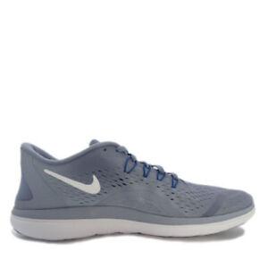e0b3f5df9f5e Men s Nike Flex 2017 RN Running Shoes Dark Sky Blue   Gym Blue Sz ...