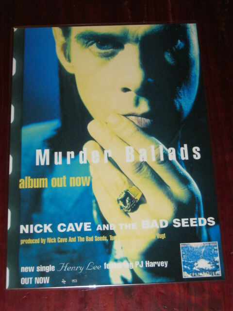 Nick Cave And The Bad Seeds  -  Murder Ballads - Laminated Promo Poster