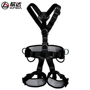 Xinda Professional Climbing Rappelling Rescue Full Body Safety Belt Harness