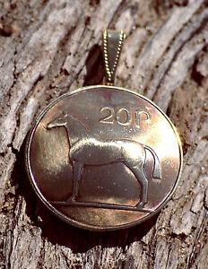 Details about 10 Pendants - Ireland Horse Domed Pendant Celtic Irish Coin  Necklace Jewelry