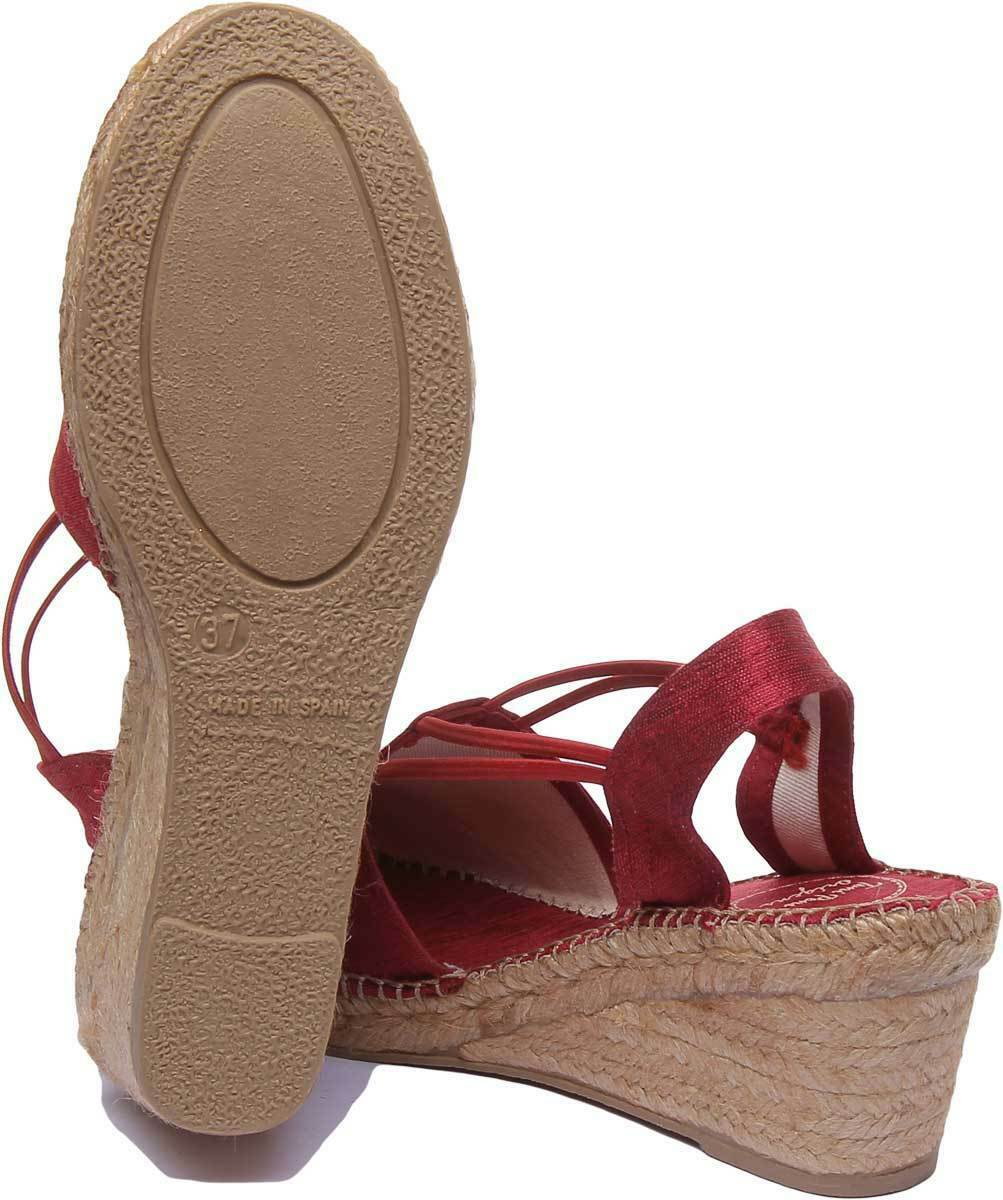 Toni Pons Turia damen Fabric rot Closed Closed Closed Toe