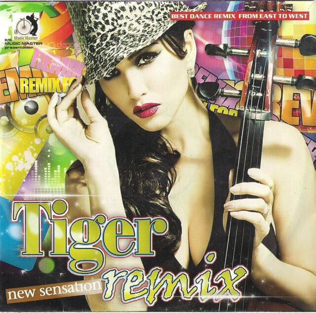 Tiger Remix 18 Tracks On One Bollywood CD