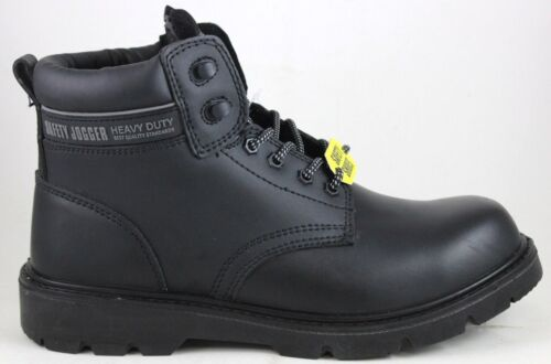 Men/'s Safety Jogger X1100N Safety Boot Black Brand New In Box