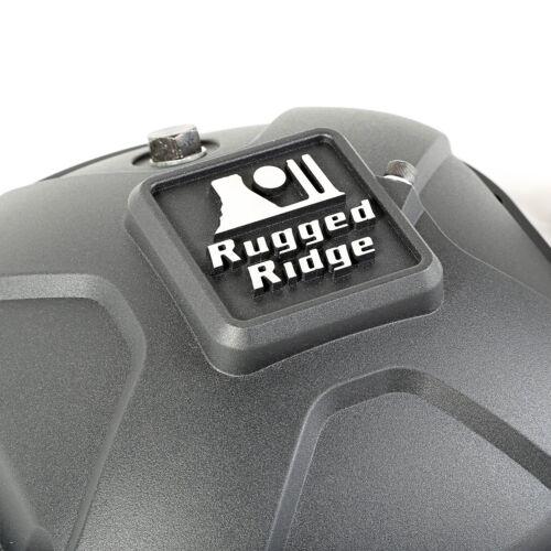 Jeep Wrangler JK Dana 30//44 Rugged Ridge Boulder Aluminum Differential Cover Set