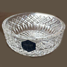"BLENHEIM PLATE 6"" diameter Stuart Crystal Hand Cut Mouth Blown made England"