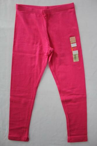 NEW Girls Ankle Leggings Size XL 14-16 Solid Pink Stretch Pants School