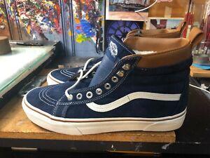 beccf1f7a8 Vans Sk8-Hi MTE Dress Blues  Marshmallow Size US 11.5 Men s ...