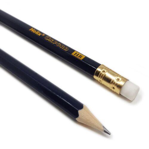 36 X Helix Oxford Hb Stifte mit Radiergummis Gummi Verpackt Premium Qualität