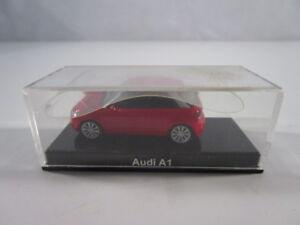 AUDI-A1-1-87-RED-HERPA-NUEVO-RAR