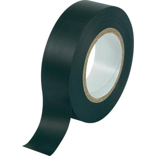 Black PVC Electrical Insulation Tape 20Mx 19mm x0.15mm