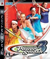 Ps3 Power Smash 3 (power Smash 3) Japan Import Japanese Video Game Sony