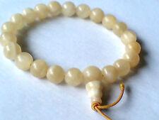 Sorprendente Potenza Elasticizzato Bracciale Con Semi-preziose Perle di Giada gialla £ 4.95nwt