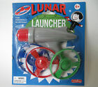 Lunar Launcher Space Toy Ray Gun Toy Retro Flying Saucer Spaceman