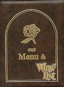 Older Restaurant Menu - Breckenridge, Colorado - Briar Rose - Huge Menu