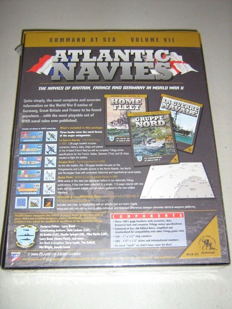 Atlantic Navies  Couomod at Sea Volume Volume Volume VII (nuovo) 9d0c1e
