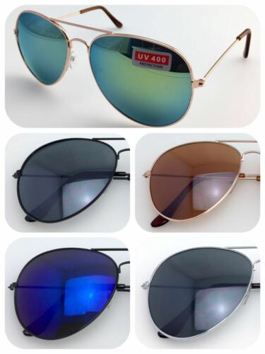 3026 Classic Designer Pilot UV400 Protect Sunglasses//Stylish Frame//Mirrored Lens