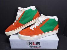 2011 Nike Hachi Nd Qs 457059-830 Team Orange/Victory Green Men's Size 10