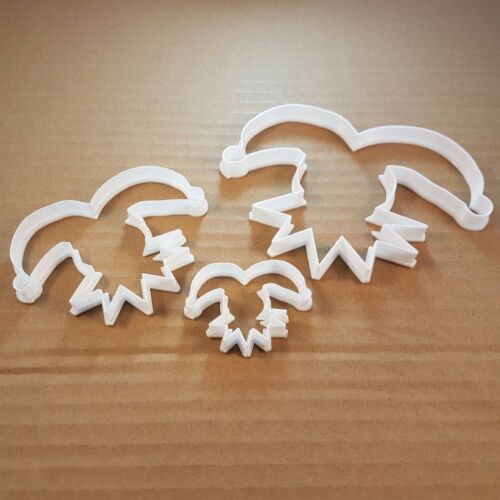 Jester Medieval Clown Shape Cookie Cutter Dough Biscuit Pastry Fondant Sharp