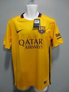new product 9d1ee 2f2b9 Details about barcelona fc away jersey 2015