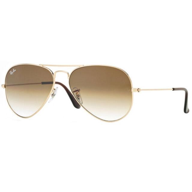 aca75f7dc265 Authentic Ray Ban Aviator Sunglasses Rb3025 001/58 58mm Polarized ...