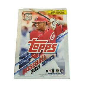 2021 Topps MLB Baseball Series 1 Hanger Box 67 Cards Factory Sealed Exclusive