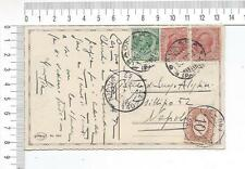21040) ITALY 30.12.1922 PC Saonara (PD) Napoli - Tassata 10c