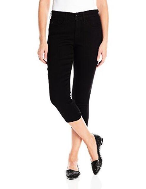 Choose SZ//Color LEE Women/'s Plus-SZ Slimming Fit Pull on Capri Jean