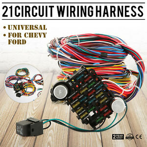 21 Circuit Wiring Harness - Wiring Diagram 500 on ez wiring horn, ez wiring battery, ez go harness, ez wiring headlight switch,