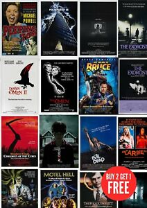Damien Omen II Classic Large Movie Poster Art Print A0 A1 A2 A3 A4 Maxi