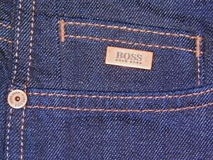 aa61a58d86c HUGO BOSS MENS DELAWARE 3 Slim-fit jeans in stretch denim 2 SIZES ...