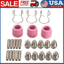26pcs Plasma Cutter Consumables Sg 55 Ag 60 Wsd 60p Cutting Torch Nozzle