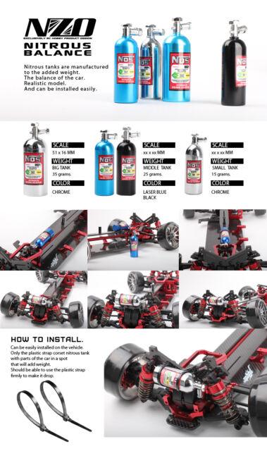RC Drift Car 1/10 NOS Bottle 35g Weights Balance Chassis Kit Tamiya MST HPI #871