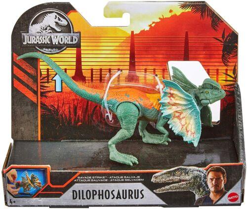 Jurassic World Savage Strike Dilophosaurus Dinosaur Action Figure