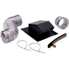 Roof Vent Cap Duct Kit Kitchen Bathroom Attic Exhaust Ducting Fan Ventilation