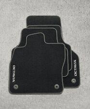 Original Skoda Octavia 3 5E Textil Fußmatten 4 teilig Stofffußmatten Schwarz