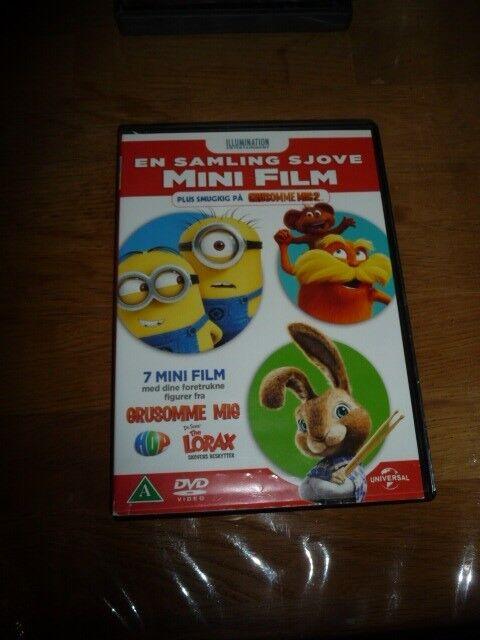 En samling sjove mini film, DVD, tegnefilm