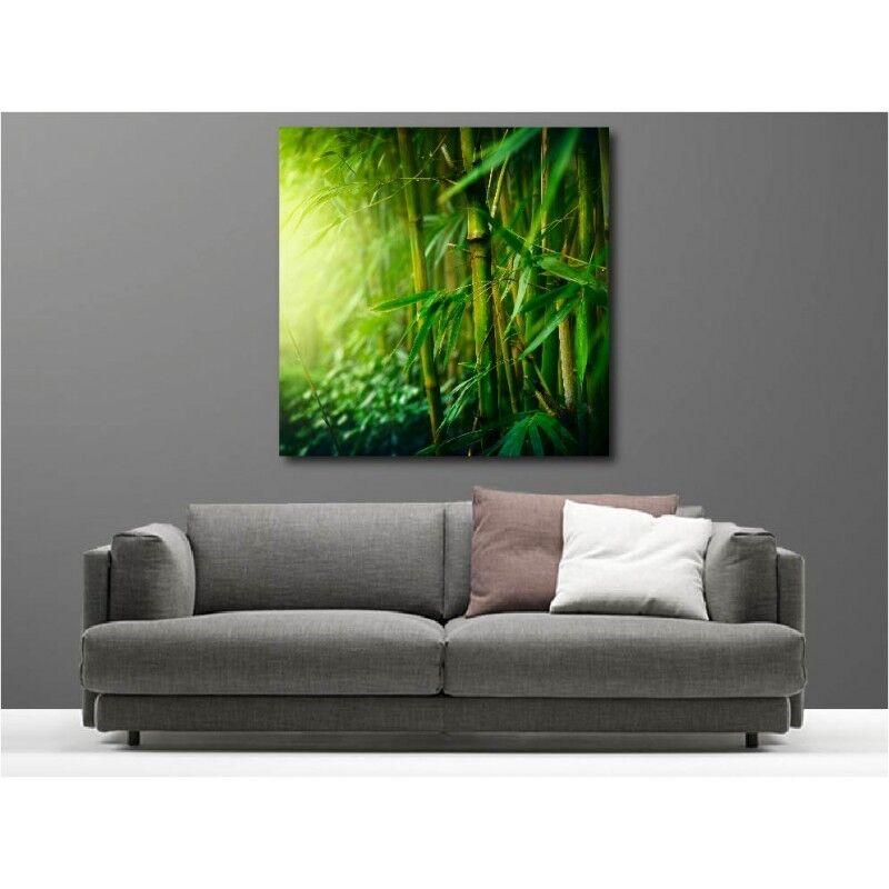 Tableau toile déco Bambous 96924077