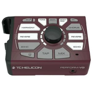 Amical Tc Helicon Perform-vg Vocal And Acoustic Guitar Processor