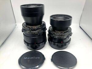 Optics-NR-Nuovo-di-zecca-Mamiya-Sekor-180mm-amp-250mm-f-4-5-2-Lente-per-RB67-RZ67-dal-Giappone