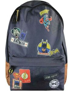 Batman Sac Detective Backpack thème Dc Superman Comics à RUqwXH