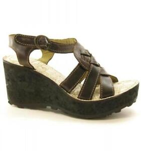 zeppa 95 Designer Eu marrone Fly plateau pelle London Grin con Uk in con £ 40 Rrp Sandali 7 4qwSfXSnxT