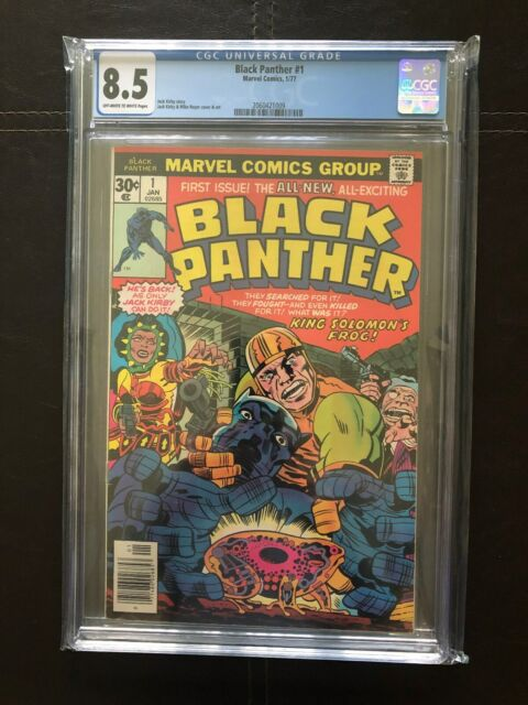 Black Panther #1 (Jan 1977, Marvel) CGC 8.5 New Case.