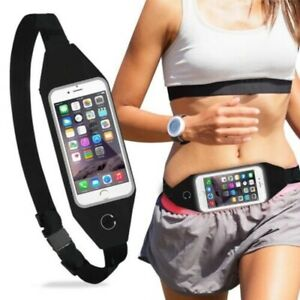 Sports Useful waist Belt Mobile Phone Holder Bag Running Gym WaistBand Exercise