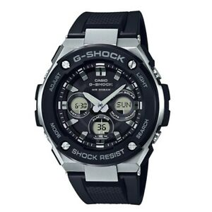 6990d9f62eaf Casio G-Shock GST-S300-1A G-Steel Downsized Analog Digital Solar ...