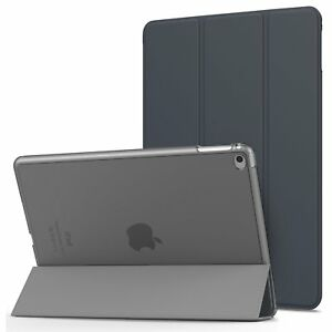 SMART-Magnetic-CASE-WITH-HARD-BACK-COVER-Fits-IPAD-AIR-A1474-A1475-A1476-Black